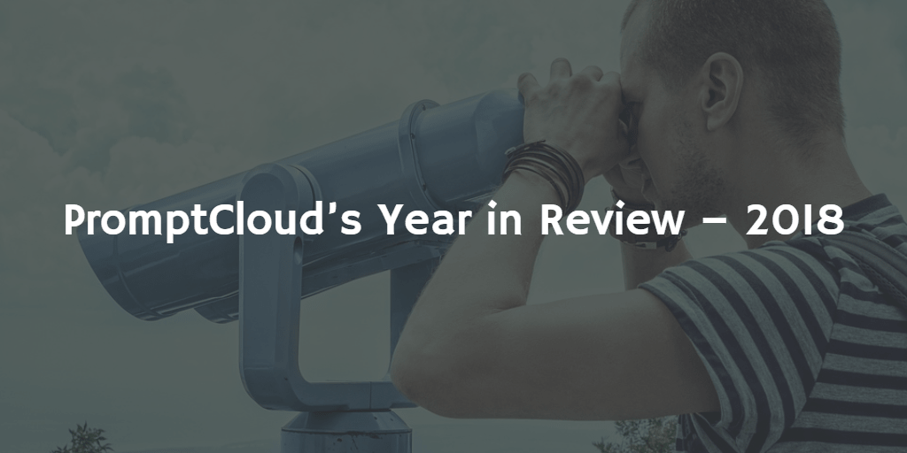 PromptCloud year in review 2018